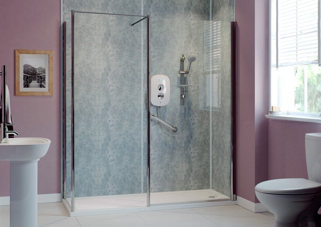 Mobility bathrooms - Walk in Shower - Age Care Bathrooms