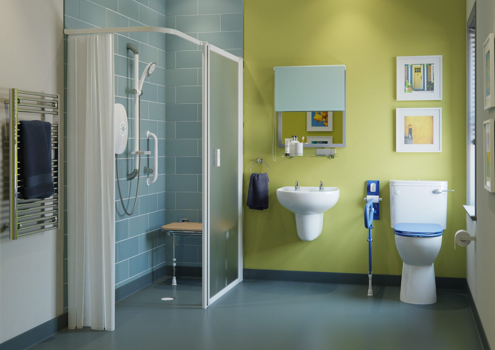 A Guide To Disabled Showers Age Care Bathrooms