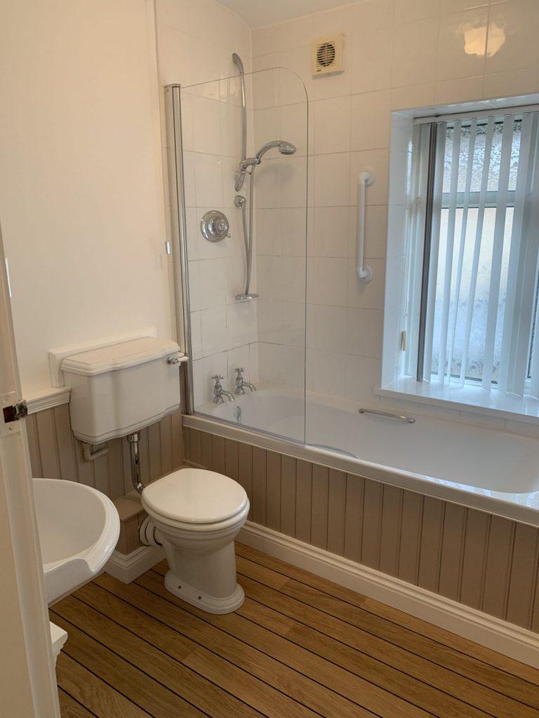 bathroom before installation