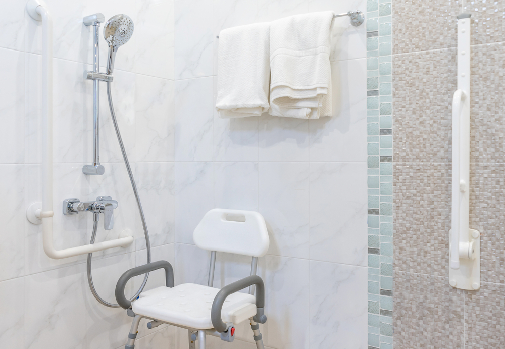 shower chair for the disabled