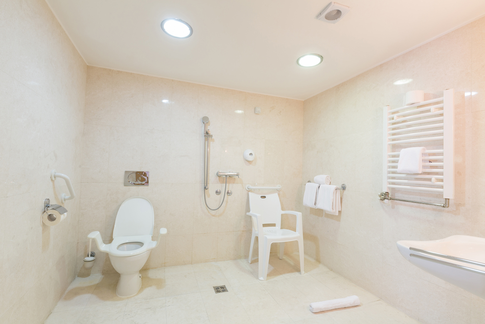 Mobility Bathroom Adaptions For Wheelchair Users